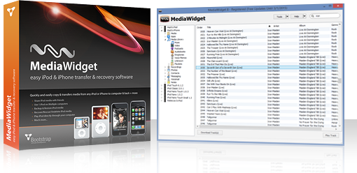 MediaWidget - iPod to iTunes